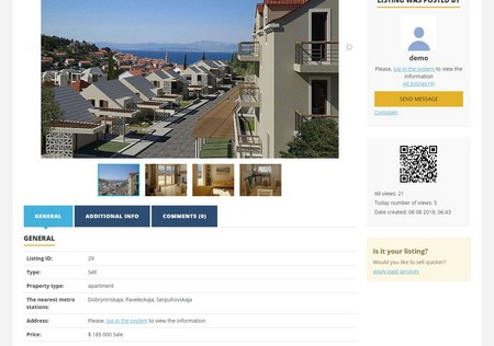 View listing - Open Real Estate CMS